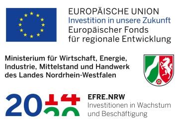 Förderung durch die EU EFRE NRW